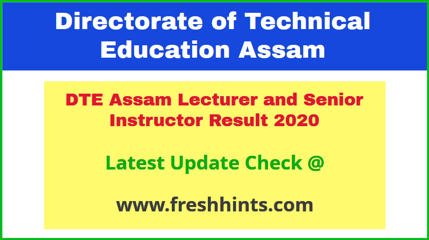Dhemaji Engineering College Faculty Results 2020