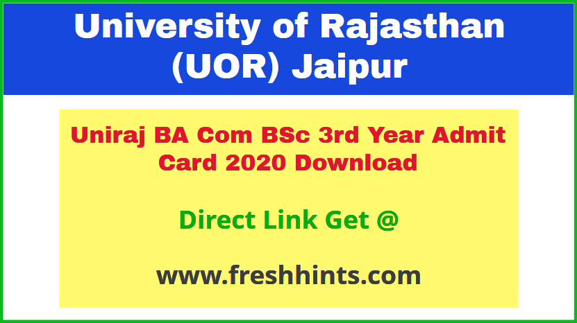 uor-jaipur-university-ug-part-3-permission-letter-2020