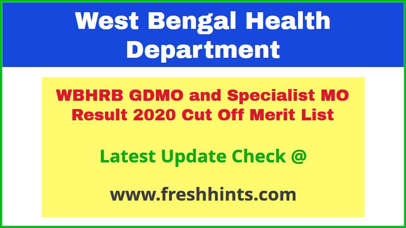 west-bengaWest Bengal Medical Officer Selection List 2020l-medical-officer-selection-list-2020