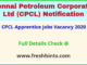 CPCL Apprentice Jobs Vacancy 2020
