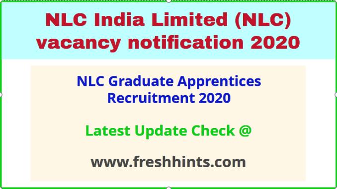 NLC Graduate Apprentices Recruitment 2020