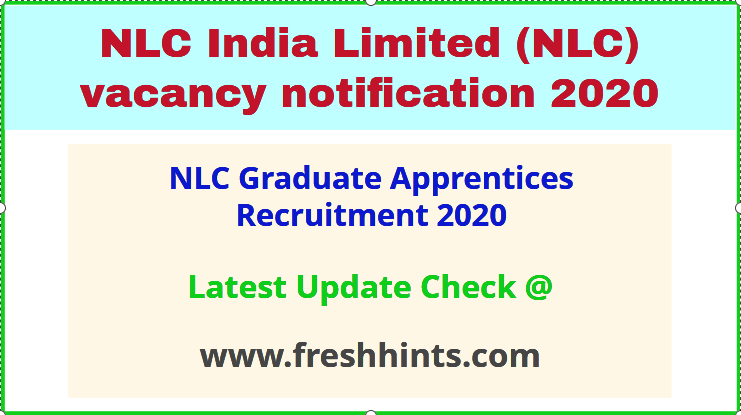 NLC Graduate Apprentices Recruitment 2020
