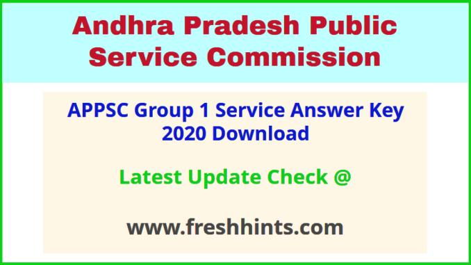 AP Group 1 Service Answer Sheet 2020
