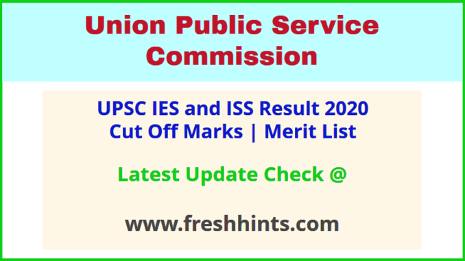 IES ISS Selection List 2020