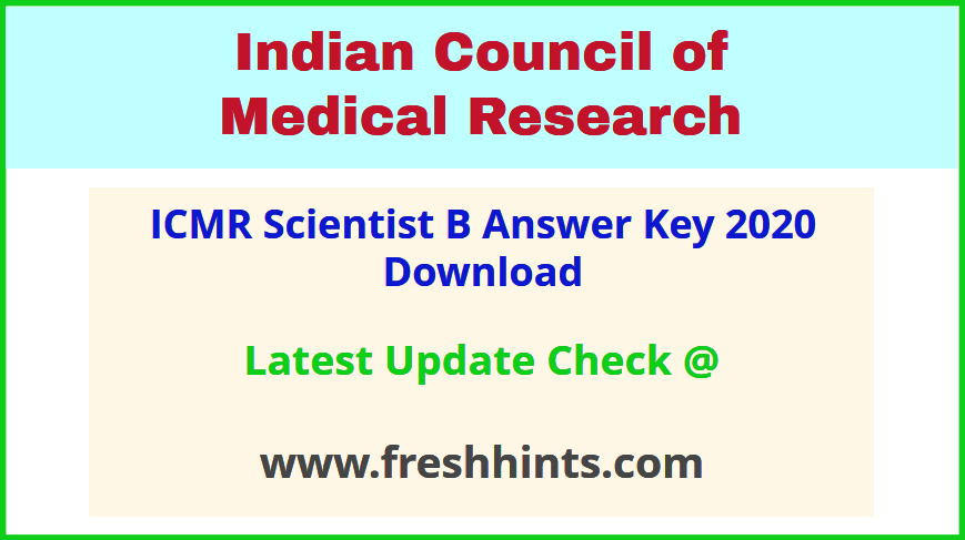 indian-council-of-medical-research-sc-b-answer-key-2020