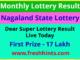 Nagaland Lotteries Dear Super Winner List 2020