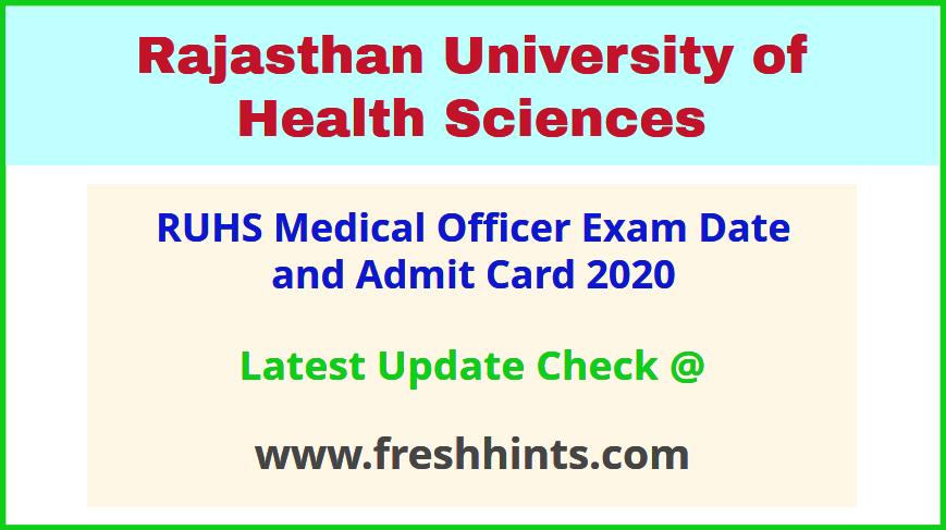 Rajasthan Medical Officer Permission Letter 2020