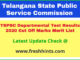 Telangana State Departmental Exam Results 2020