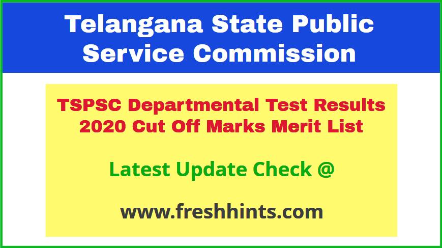 Telangana State Departmental Exam Results 2020