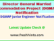DGMAP Junior Engineer Notification