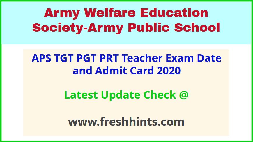 APS Teacher Hall Ticket 2020 Download