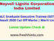 NLCIL Graduate Executive Trainee Selection List 2020