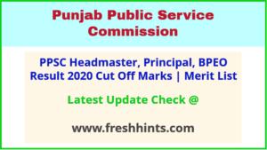 Punjab Headmaster Selection List 2020
