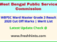 West Bengal Labour Department Ward Master Selection List 2020
