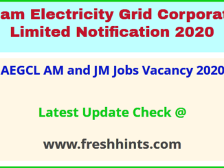 AEGCL AM and JM Jobs Vacancy 2020