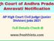 AP High Court Civil Judge (Junior Division) Jobs 2021