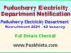 Puducherry Electricity Department Recruitment 2021