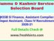 JK Depot Assistant Class IV Bharti 2021 Latest Update