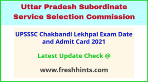 UP Lekhpal Hall Ticket 2021