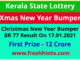 Kerala New Year Bumper Lottery Winner List 2021