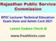 Rajasthan Takniki Shiksha Lecturer Permission Letter 2021
