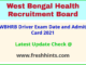 WB Health Driver Exam Call Letter 2021