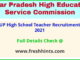 UP high school teacher recruitment 2021