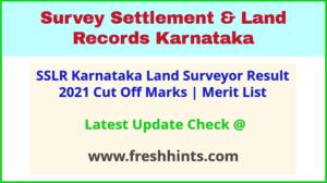 Bhoomi Karnataka Land Surveyor Selection List 2021