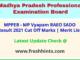 MP Gramin Krishi Vistar Adhikari Selection List 2021