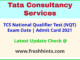 TCS National Qualifier Test Admit Card 2021
