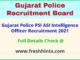 Gujarat Police Sub Inspector Bharit 2021