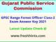 Gujarat Range Forest Officer Answer Sheet 2021