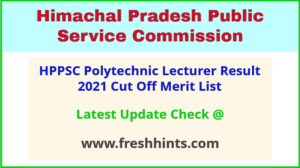 HP Polytechnic College Lecturer Selection List 2021