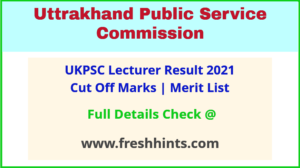 Uttarakhand Pravakta Selection List 2021