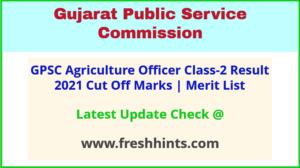 Gujarat AO Selection List 2021