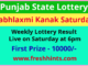 Punjab Lottery Kanak Saturday Weekly Winner List 2021