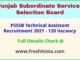 SSSB Punjab Technical Assistant Vacancy Notification 2021